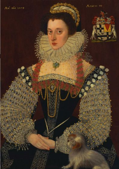 Bettes, John (The Younger): The Duchess of Chandos. Fine Art Print/Poster (4789)
